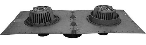 Wade 3043 9.75-in. Combo Roof and Overflow Drain