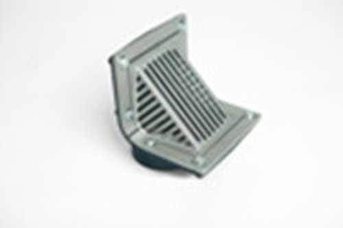 Zurn Z187 Scupper Drain with Aluminum Oblique Grate & Ring