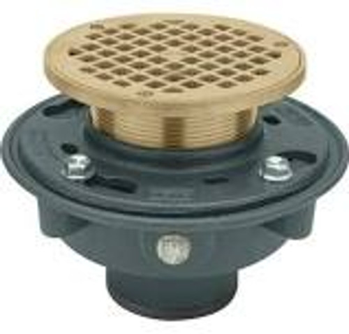 "Zurn Z415B Floor Drain with ""Type B"" 5-in. PB Heel Proof Strainer"