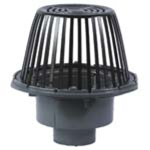 """Watts RD-100 Roof Drain 15"""" Bowl 2-6"""" No Hub Outlet"""