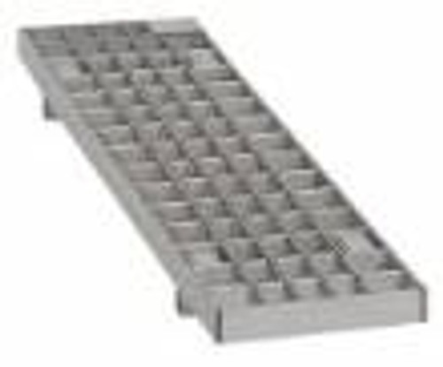 Josam 140248 Stainless Mesh .5M Slotted Grate Class C