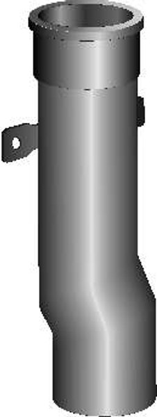 """Smith 1787 18"""" Cast Iron Downspout Boot"""