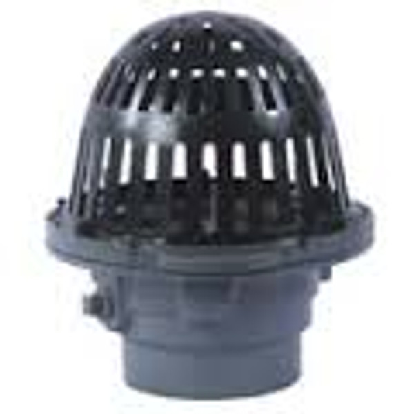 """Watts Roof Drain RD-200 8"""" Bowl 2-4"""" Outlet"""