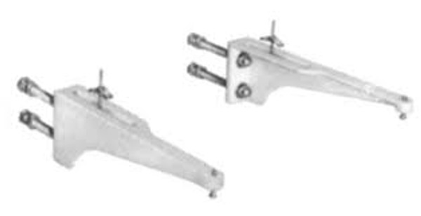 Josam 17405 Wall Mount Exposed Arms Only
