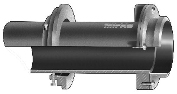 "MIFAB R1640 4"" Scupper Sleeve"