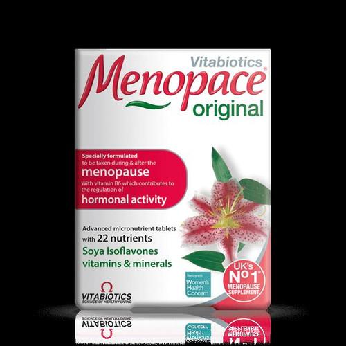 Menopace original 30 tablets VITABIOTICS