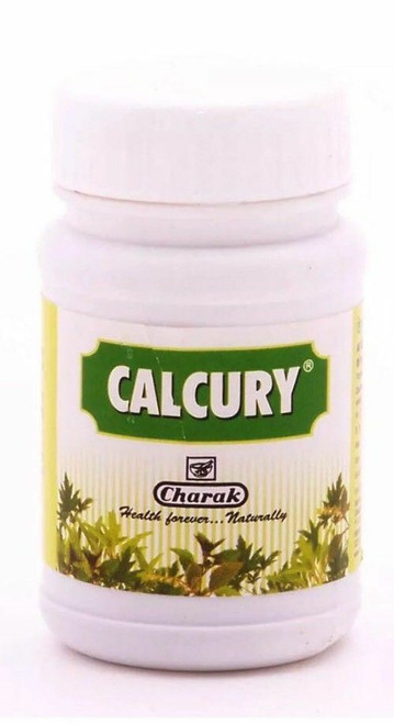 Calcury Tablet  Residual Calculi - 40 Tablets Charak