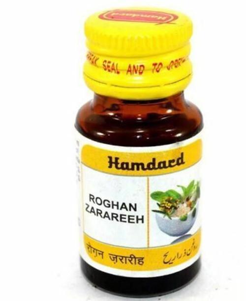 Roghan Zarareeh Hair Loss & Hair Regrowth Herbal UNANI - 10 ml