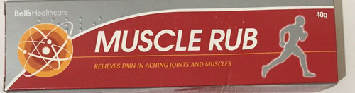 Muscular Rub Effective For Muscular Rheumatic Aches Pains Stiffness 40g