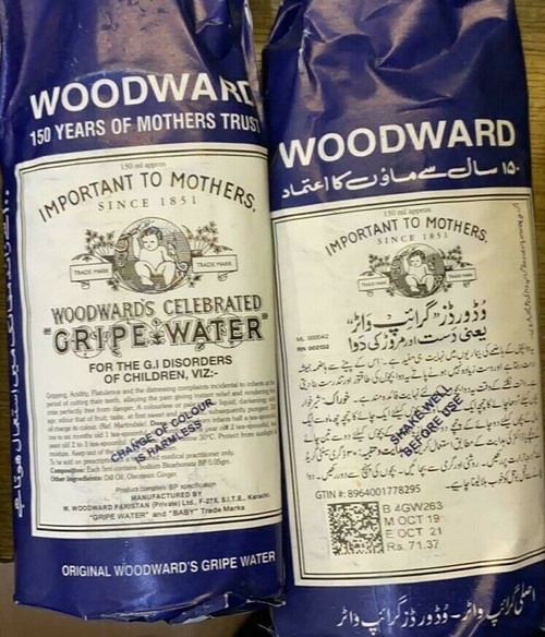 Woodwards Gripe Water healthy baby crying baby