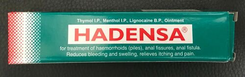 Hadensa ointment  Chronic Constipation Bleeding Piles Haemorrhoids Fistula 20g