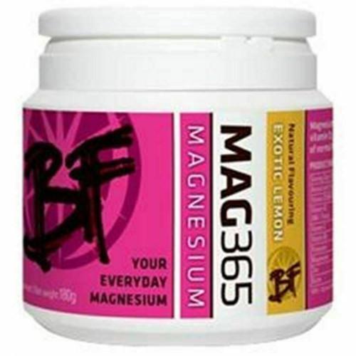 Magnesium zinc and vitamins Supplement BF Exotic Lemon  mag 365 180g
