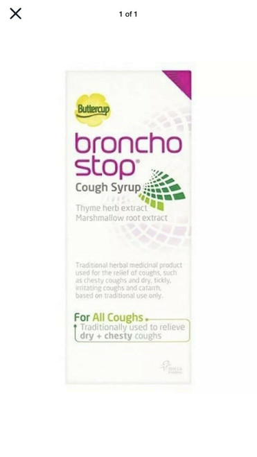 Broncho  Cough Syrup Thyme Herbal Extract 120ml