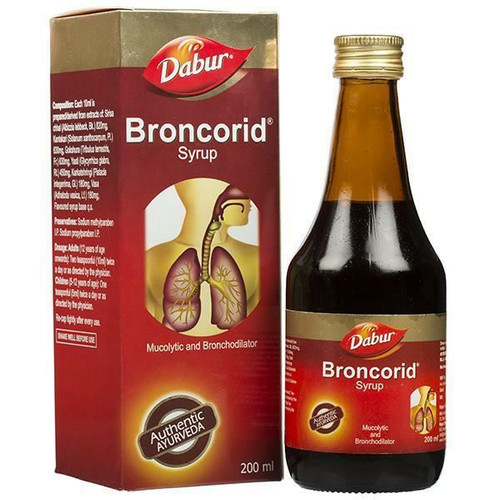 Broncorid  200ML DABUR