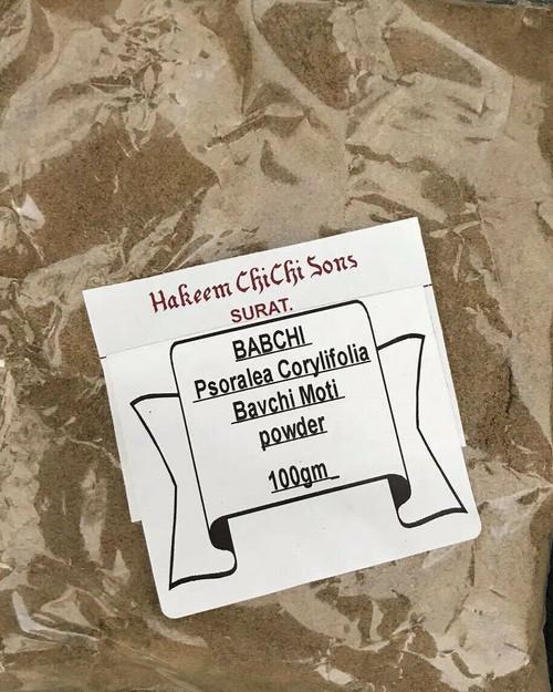 BABCHI powder psoralea Corylifolia Bavchi Moti 100gm white skin patches