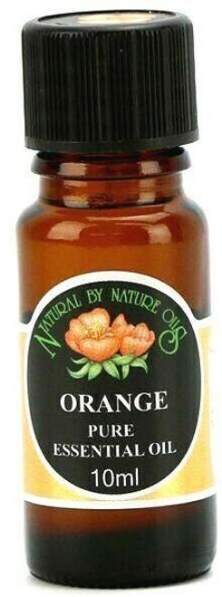 Organic ORANGE (Citrus sinensis) essential oil 10ml