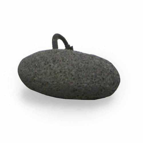 Eco Bath Natural Black Pumice Stone With Rope