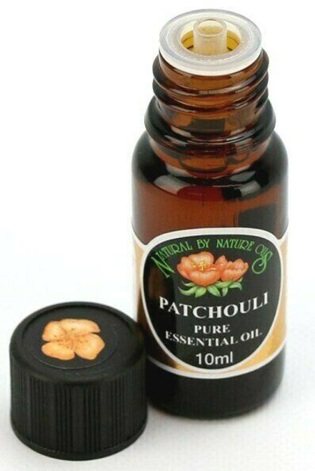 Organic PATCHOULI (Pogostemon cablin) essential oil useful in anxiety