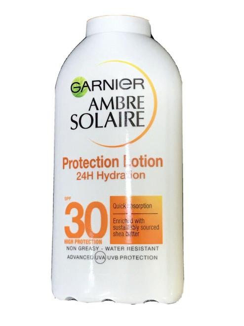 Ambre Solaire SPF 30 Sun Protection Lotion Non Greasy- Waterproof Garnier 200ml