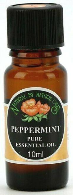 Organic PEPPERMINT (Mentha piperita) essential oil
