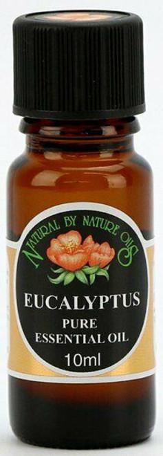 Organic Pure EUCALYPTUS (Eucalyptus globulus) essential oil 10ml UK made