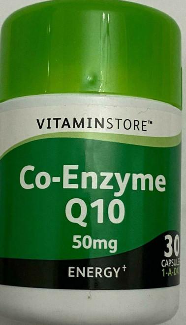 Co Enzyme Q10 50mg  30 capsules Q10 Coenzyme Antioxidant Heart