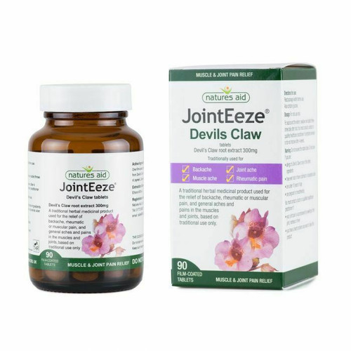 Devil's Claw  Joint eeze 90 tabs backache, joint ache, muscle ache  Natures Aid