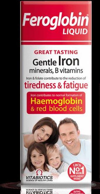 Feroglobin liquid Vitamin B12 Gentle Iron 500ml fatigue -  Vitabiotics