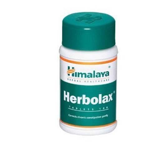 Herbolax Relieves constipation 60 tablets Himalaya herbal