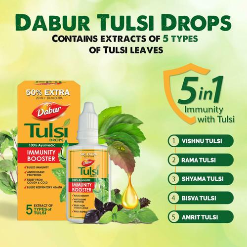 Tulsi drops ayurvedic immunity booster