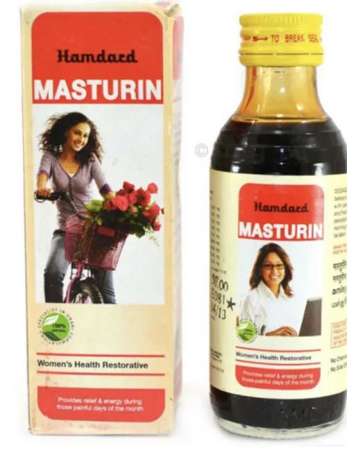 Masturin menstrual irregularity, regulate menstrual cycle herbal hamdard  100ml