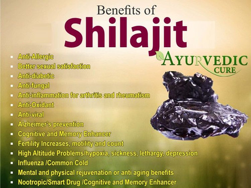 Shilajit is also a safe supplement for male infertility
