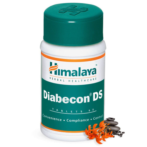 Diabecon DS 60 tablets helps reduce excessive blood sugar