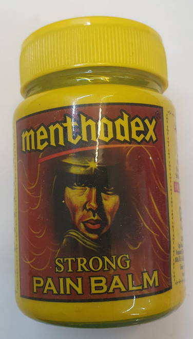 Menthodex strong pain balm 40g quick relief  headaches, body aches, cold joint p