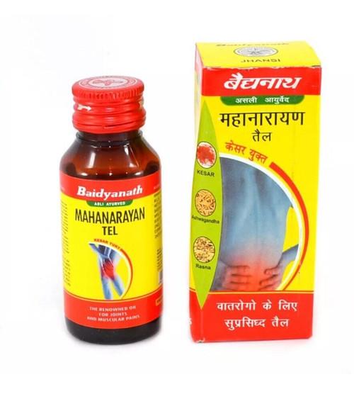 Mahanarayan Oil For Joint & Muscular Breakthrough Pain - 50ml