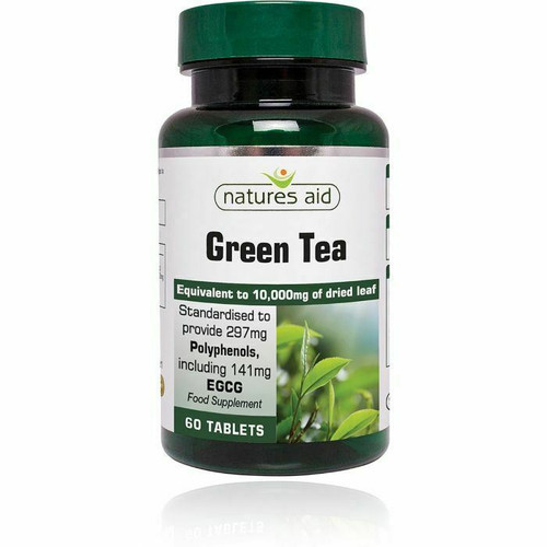 Green Tea (10000mg ) Food Supplement  60 Tablets healthy metabolism Natures Aid