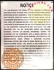 HPD Smoke detector notice(27-2045,28 RCNY § 12-01)-El blanco Line