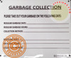 NYC HPD HPD NYC Garbage Collection SIGN