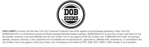 DOBSIGNS.NYC