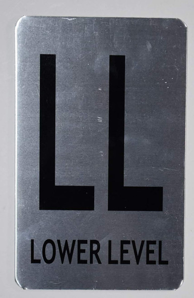Lower Level Sign