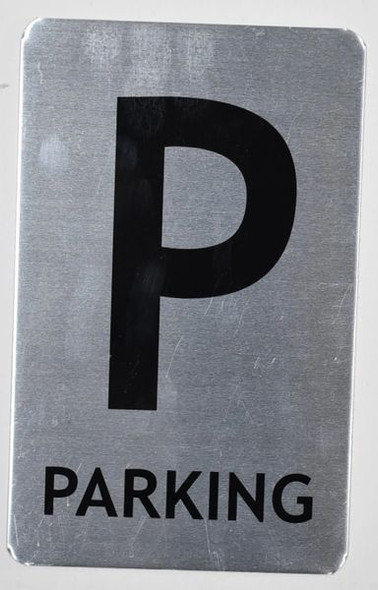 Parking Floor Number Sign