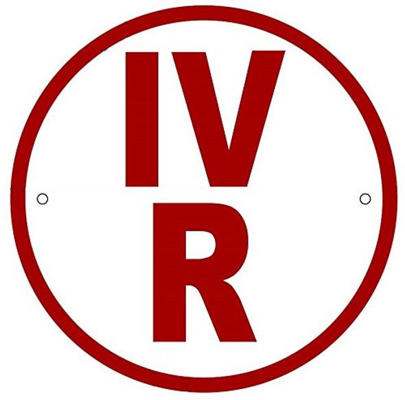 IV-R Floor Truss Circular Sign