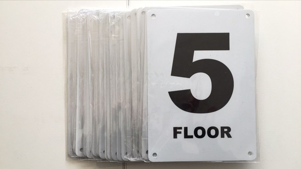 nyc hpd floor number sign