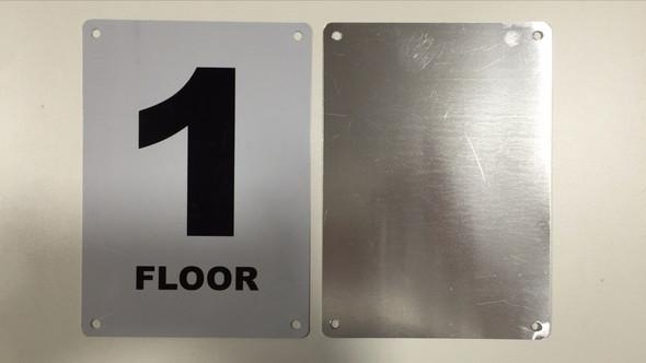 NYC HPD 1ST FLOOR SIGN