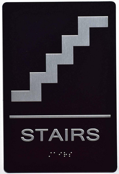Stairs Sign  The Sensation line -Tactile Signs  Ada sign