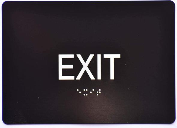 EXIT Sign Black