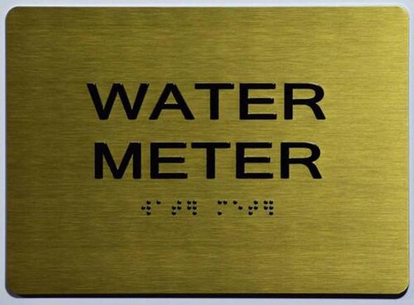 GoldWater Meter  - Gold(Aluminium, Gold/Black) The Sensation line
