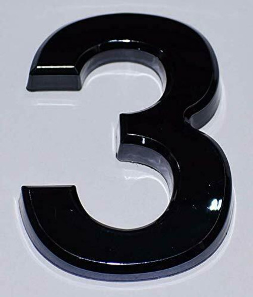 Apartment Number Sign Number Sign 3