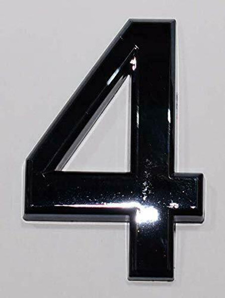 Apartment Number /Mailbox Number , Door Number . Number 4 - The Maple line.