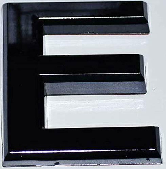 1 PCS - Apartment Number Sign/Mailbox Number Sign, Door Number Sign. Letter E